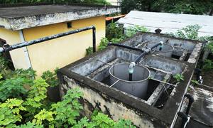Hanoi wastewater treatment plant abandoned without use