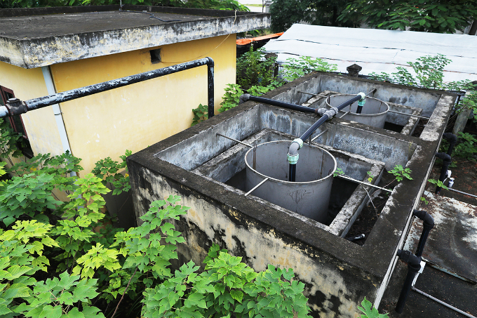 Hanoi wastewater treatment plant abandoned without use - 3