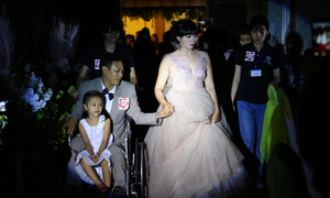 40 couples with disabilities enjoy a joint wedding in Saigon