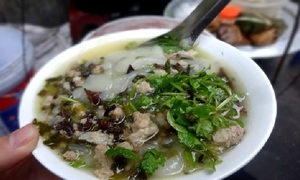 Five dishes that fit Hanoi's chill bill