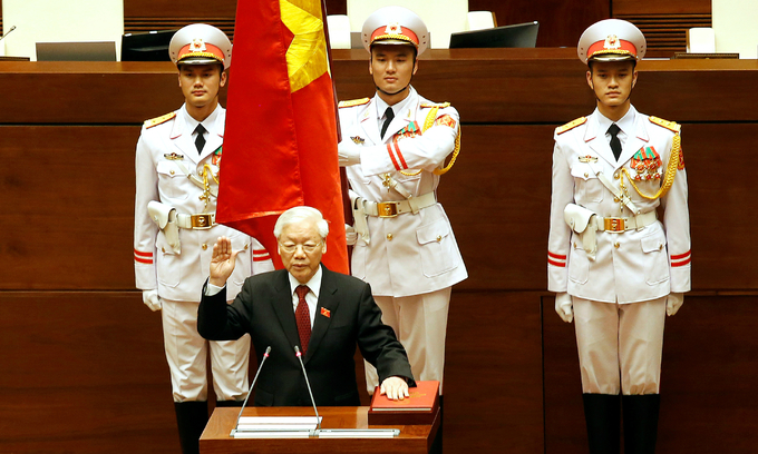 President Trong calls for greater vigilance, dedication