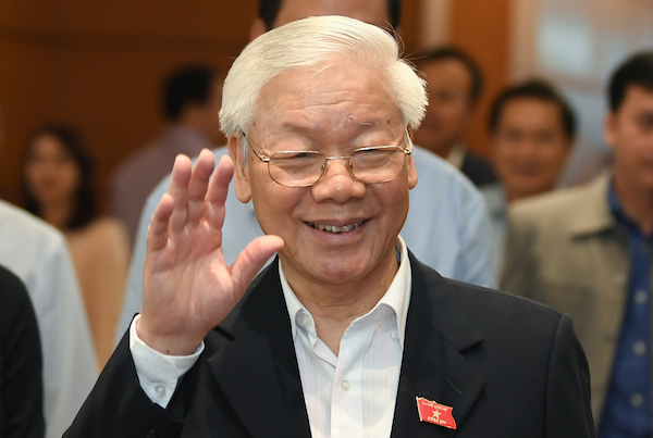 It's official: Party chief Trong is Vietnam's new president