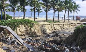 Heavy rain lashes Da Nang, exposes massive coastal erosion