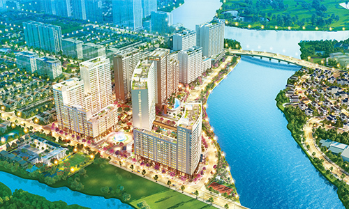 In Phu My Hung Midtown complex, the most luxurious apartments are about to go on market