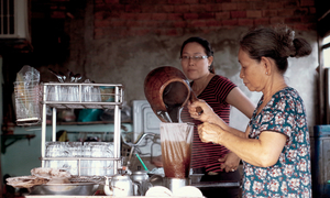Coffee that's been brewing for 50 years in south Vietnam