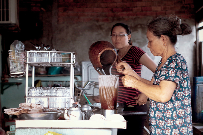 Coffee thats been brewing for 50 years in south Vietnam