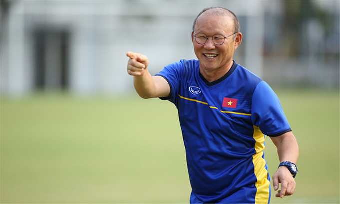 Vietnams head coach Park Hang-seo helped the nations football team claimed silver medal in AFC Cup and reach the Asian Games semifinal. Photo by VnExpress/Lam Thoa