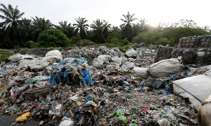 Swamped with plastic waste: Malaysia struggles as global scrap piles up