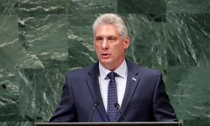 Cuba president to visit Russia, China, Vietnam in November