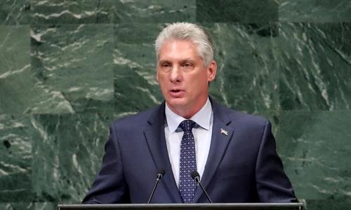 Cuba president to visit Russia, China, Vietnam in November