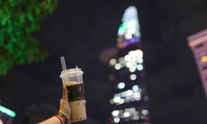 Tea-based drinks trump coffee by far in Saigon: study