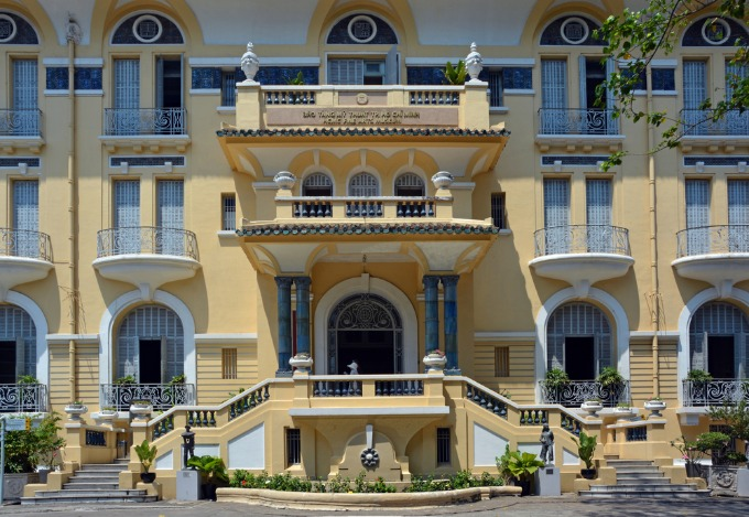 The front of the Museum of Fine Arts in HCMC. Photo by Shutterstock
