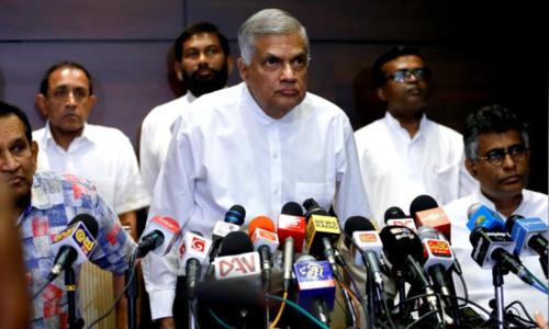 Sri Lankan president suspends parliament after firing prime minister