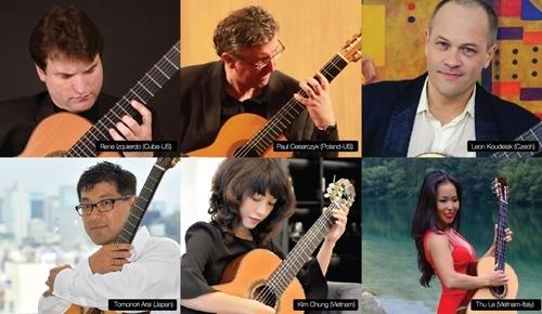 Renowned artists to perform at Saigon International Guitar Festival