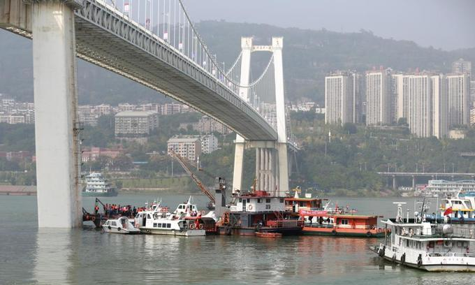 Two dead after China bus plunges 60 meters into river: state media
