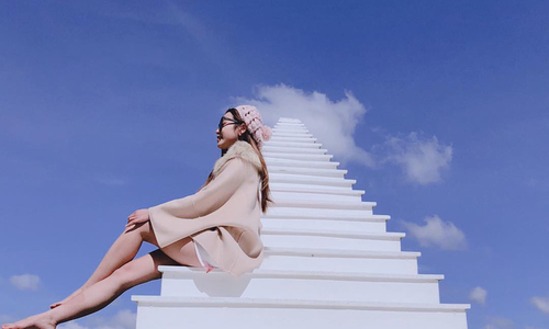 Stairways to heaven: New photo props offer magical backdrops