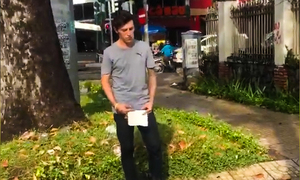 Expats outraged as American man begs on Saigon streets