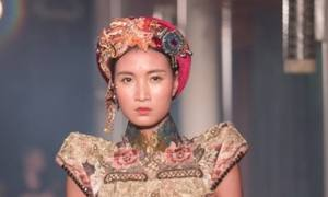 Vietnamese opera costumes inspire a fashion journey to the east