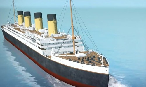 China to build replica ship of the Titanic