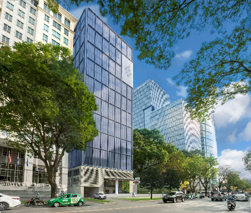 Friendship Tower grade A office project in 31 Le Duan Boulevard, District 1, HCMC.