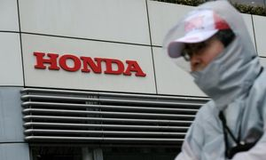 Honda raises forecasts on solid motorbike sales