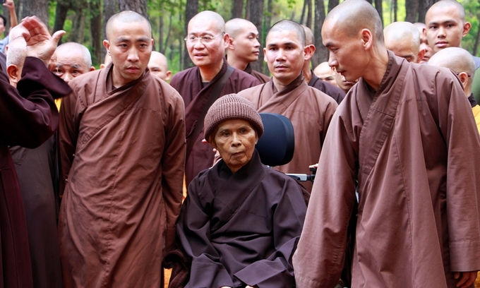 Vietnam's influential Buddhist leader says he is back home for good