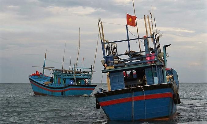Thailand seizes 3 boats, detains 14 Vietnamese fishermen