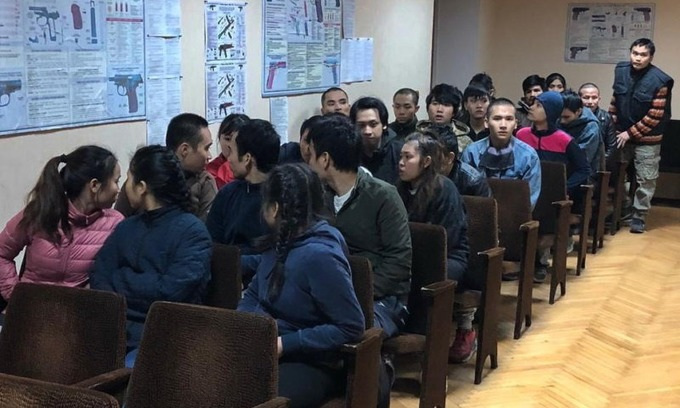 Ukraine to deport 28 illegal Vietnamese immigrants
