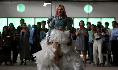 Plastic? Fantastic!: Cambodian LGBT fashion designers find beauty in trash