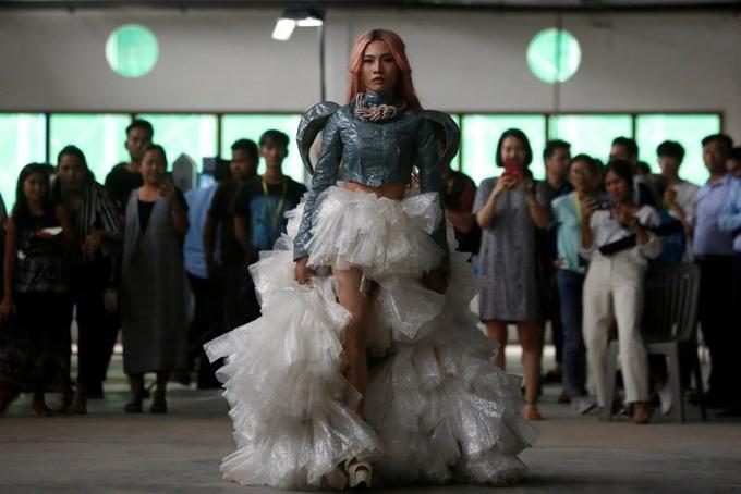 Plastic? Fantastic!: Cambodian LGBT fashion designers find beauty in trash