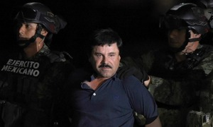 Capo no more, Mexican drug lord 'El Chapo' faces the music