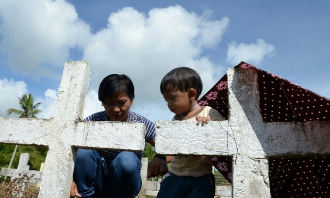 'Life goes on': Long road for Typhoon Haiyan survivors