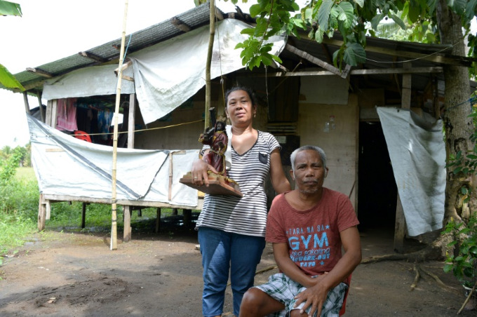 Indic and her family managed to escape the deadly storm surge, but are confronted daily by the struggle to make a living