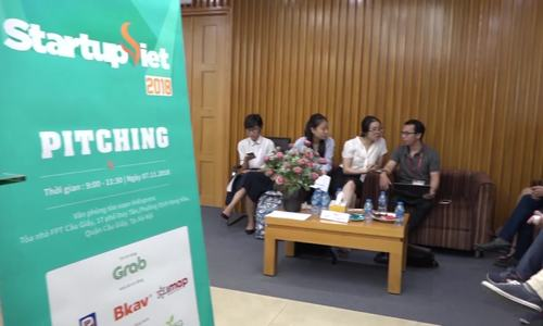 Top 15 startup pitch in 'Startup Viet 2018' contest