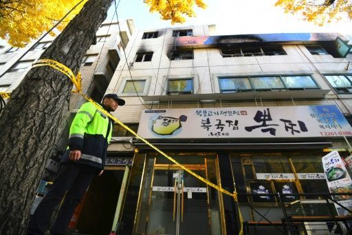 Seven killed in Seoul studio complex fire