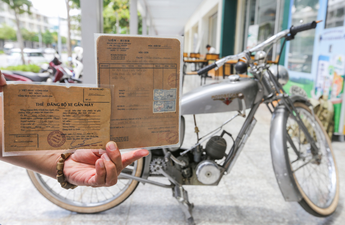 Saigon man keeps tabs on old receipts and other papers - 6