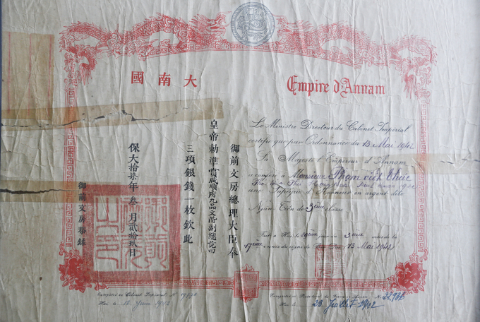 Saigon man keeps tabs on old receipts and other papers - 9