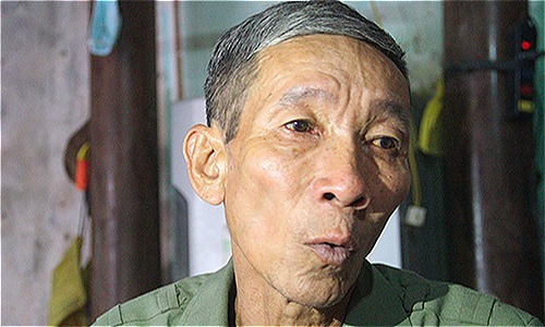 Killed in action, a Vietnamese soldier comes back alive