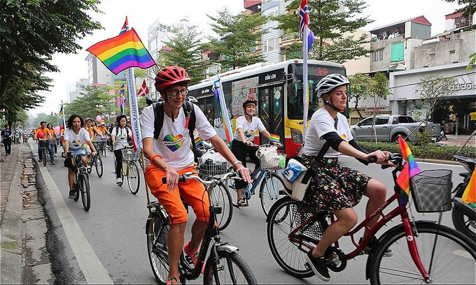 Activists call for movement on transgender rights law in Vietnam