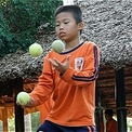 A balancing act allows talented autistic boy 'to settle down'