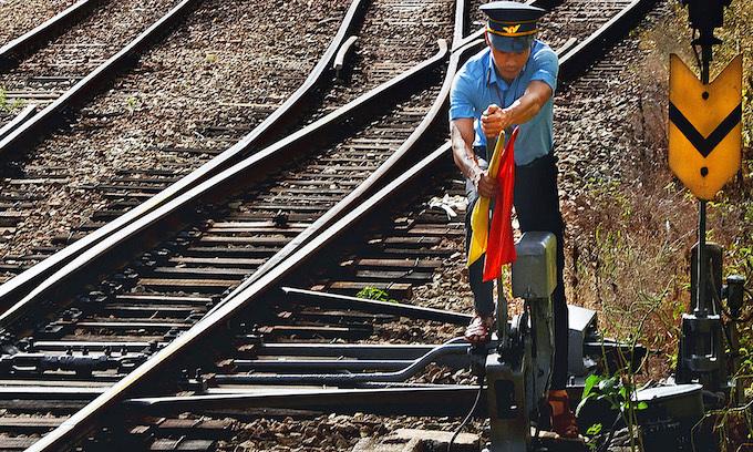 Few passengers, but trains provide key public service