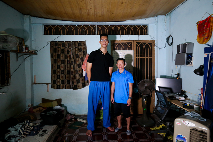 For towering Saigon youth, daily lifes a tall order