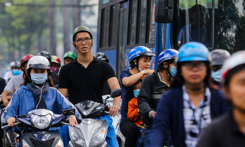 For towering Saigon youth, daily life's a tall order