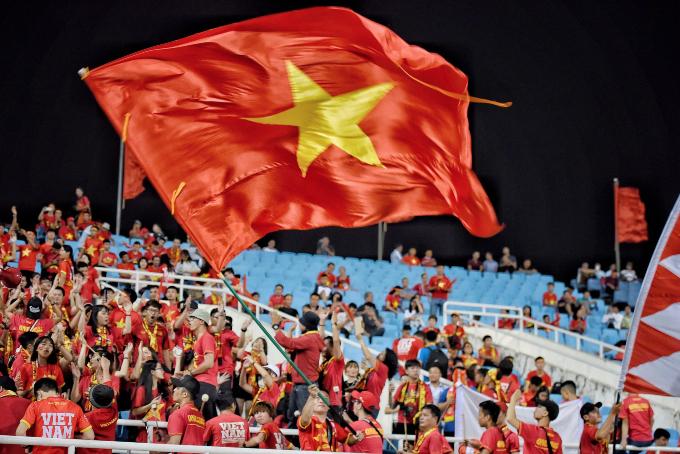 Hanoi heats up for Vietnam vs Malaysia football match - 3