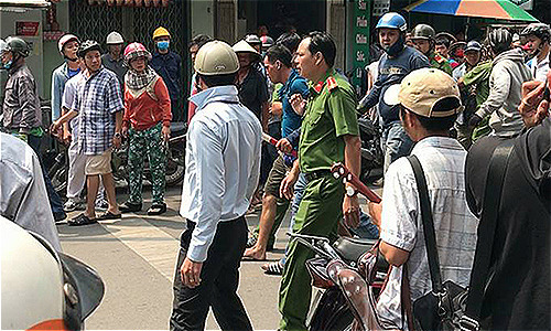 Two Saigon cops face prosecution after man dies in custody