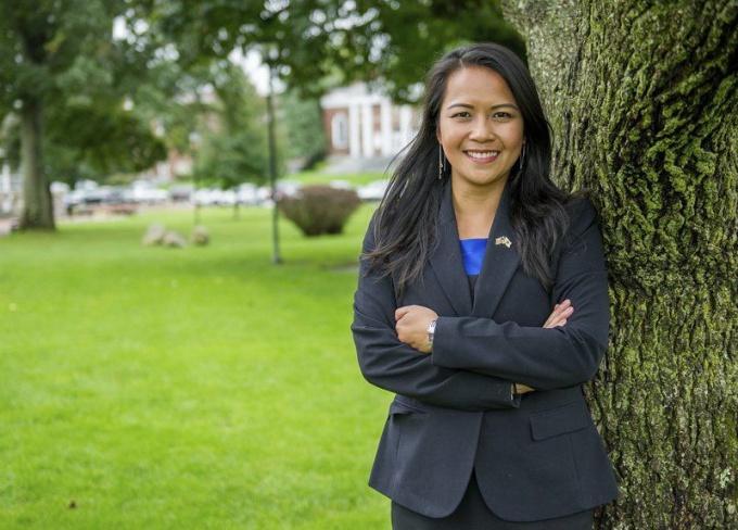 Tram Nguyen, 1st Vietnamese American elected to legislature in Massachusetts. Photo: Andovertstownsman.