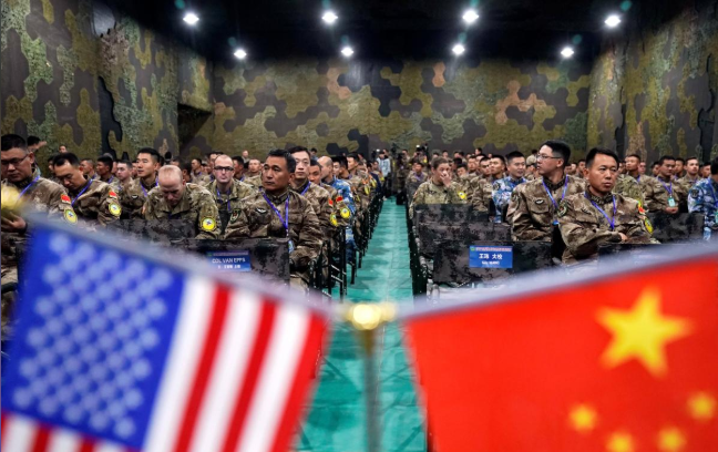 As China-US friction rises, their armies hold joint disaster drills