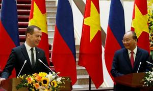 Vietnam, Russia aim to nearly triple trade to $10 billion by 2020