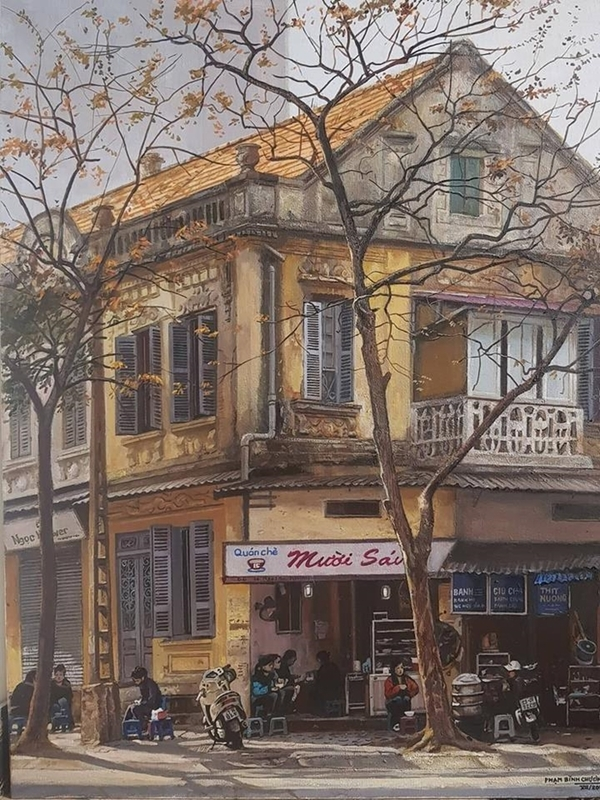 Oil paintings depict beauty of highland life in Vietnam - 4