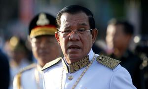 Cambodian PM says no China naval base being built